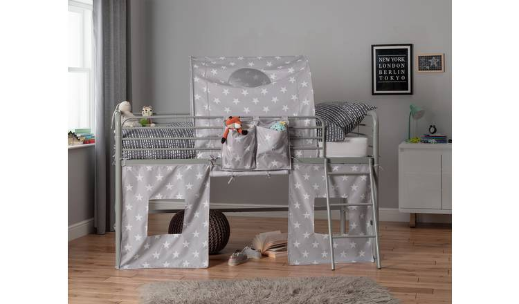 Argos Home Stars Tunnel & Tent for Kids Mid Sleeper