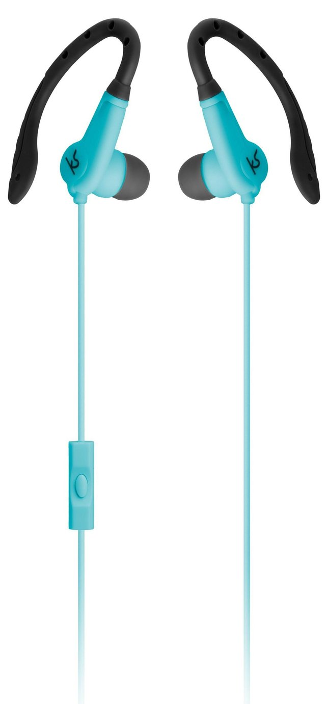 Kitsound Exert In-Ear Sports Headphones - Teal