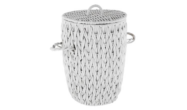 Argos Home Rope Laundry Basket - Neutral