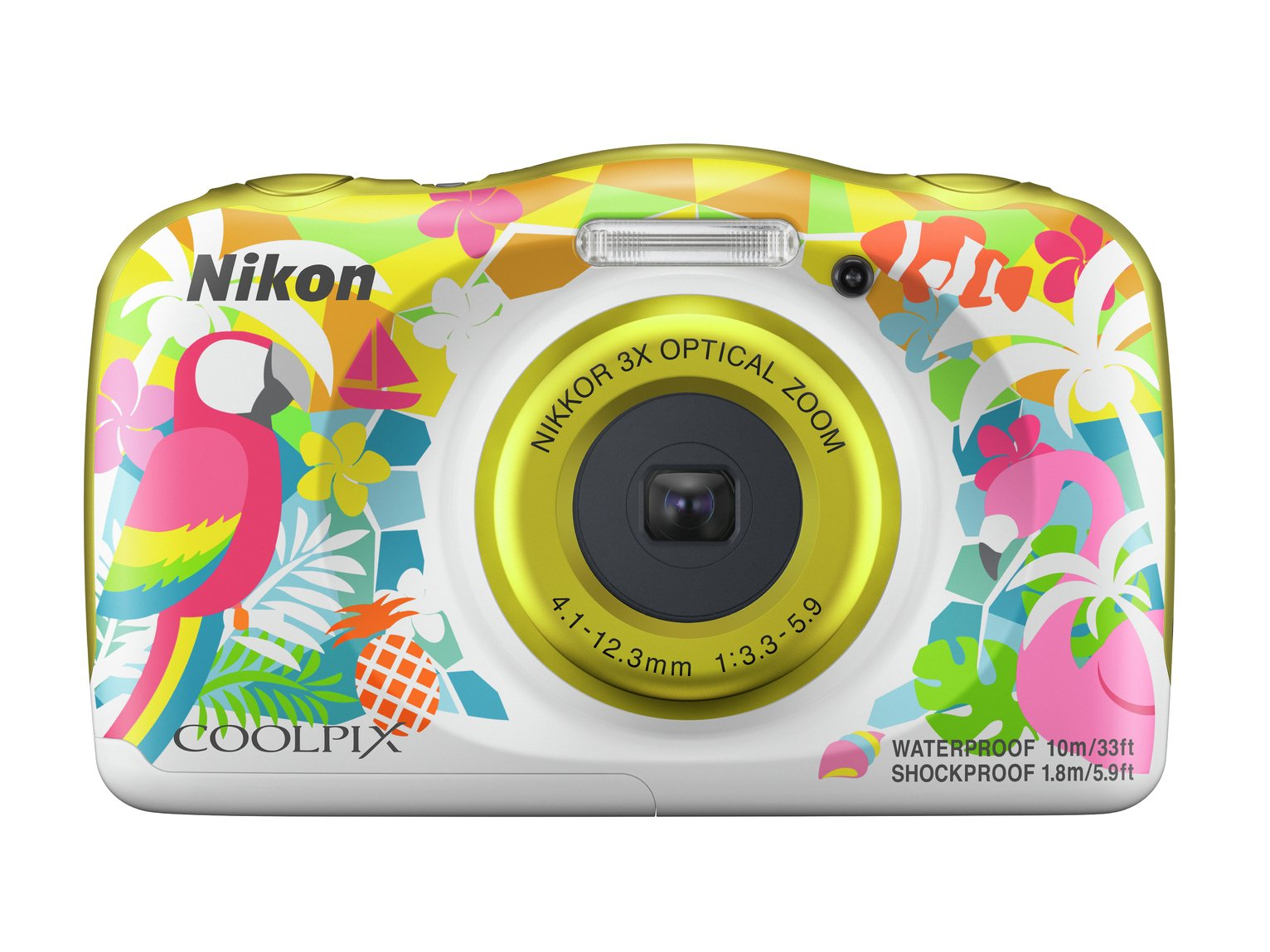 Nikon Coolipix W150 13.2MP 3 x Zoom Camera - Multicoloured