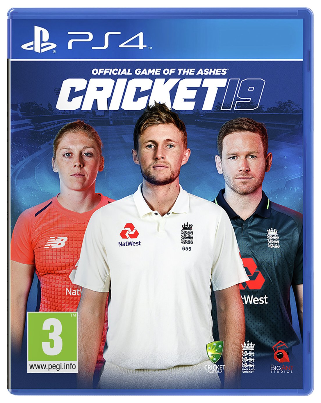 Cricket 19: Official Game of the Ashes PS4 Game