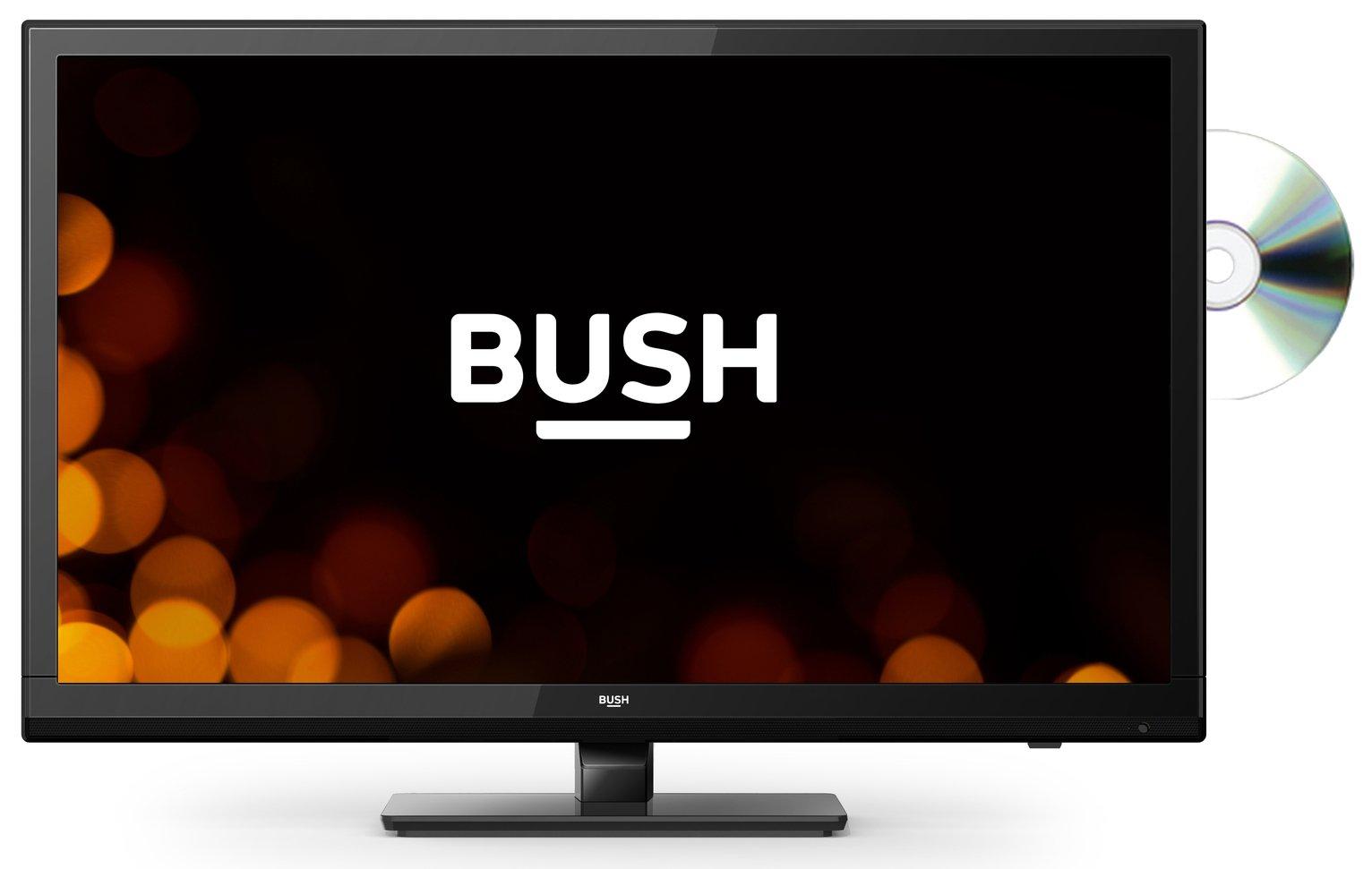 Bush 24 Inch HD Ready TV/DVD Combi - Black