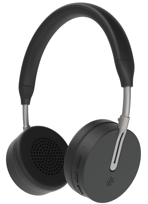 Kygo A6/500 On-Ear Wireless Headphones - Black