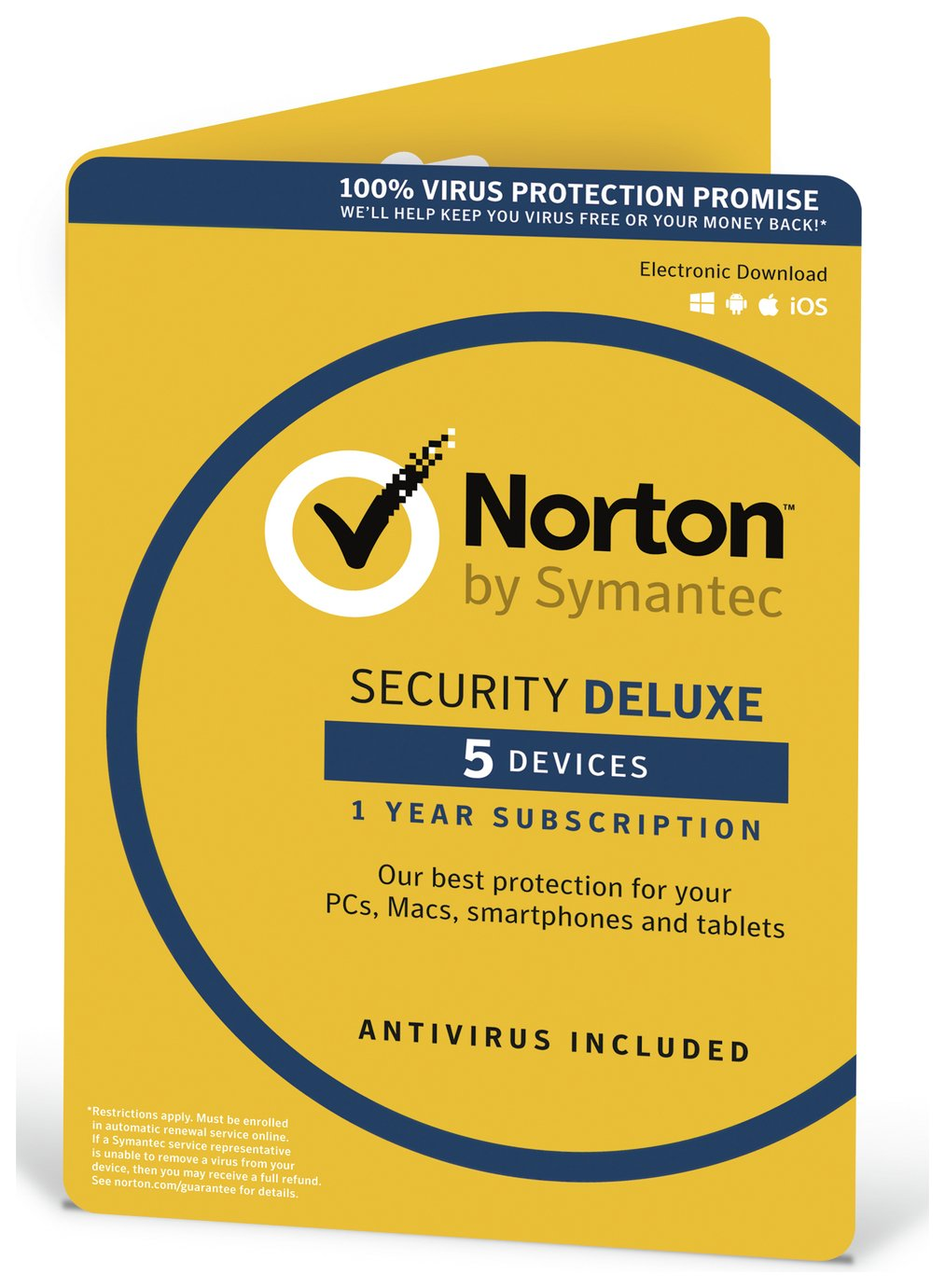 Image of Norton - Security - 1 User/5 Devices