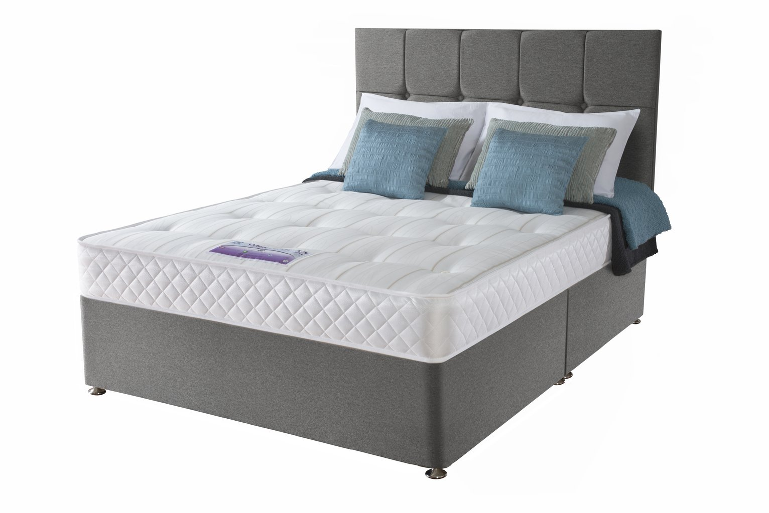 Sealy Posturepedic Firm Ortho Divan - Superking
