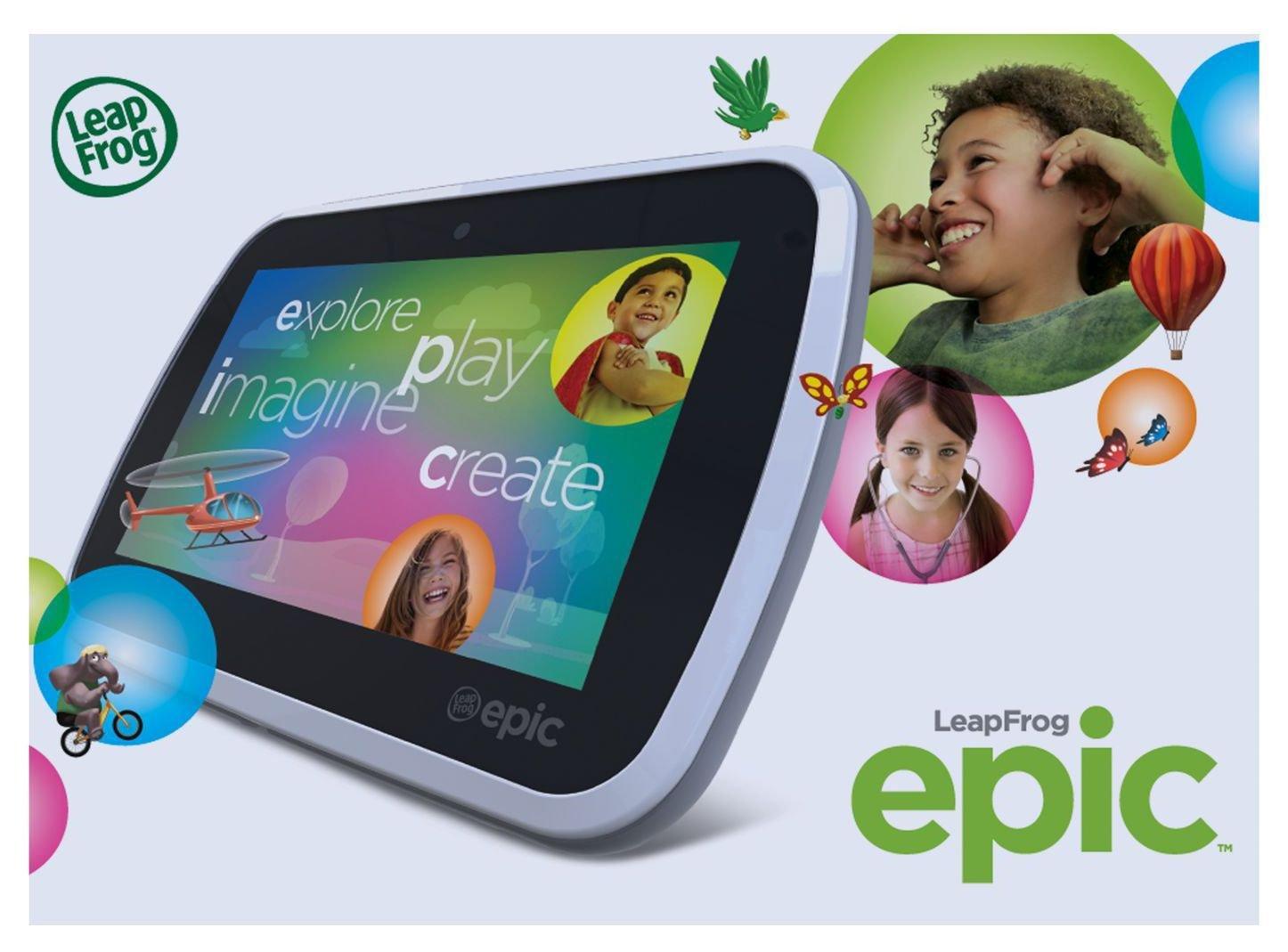 Image of LeapFrog Epic Tablet - Green