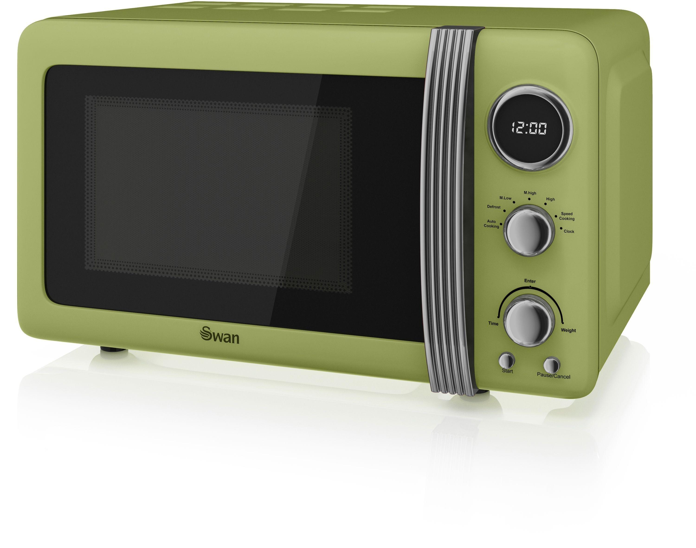 Swan - Standard Microwave -SM22030GN Standard Microwave- Green