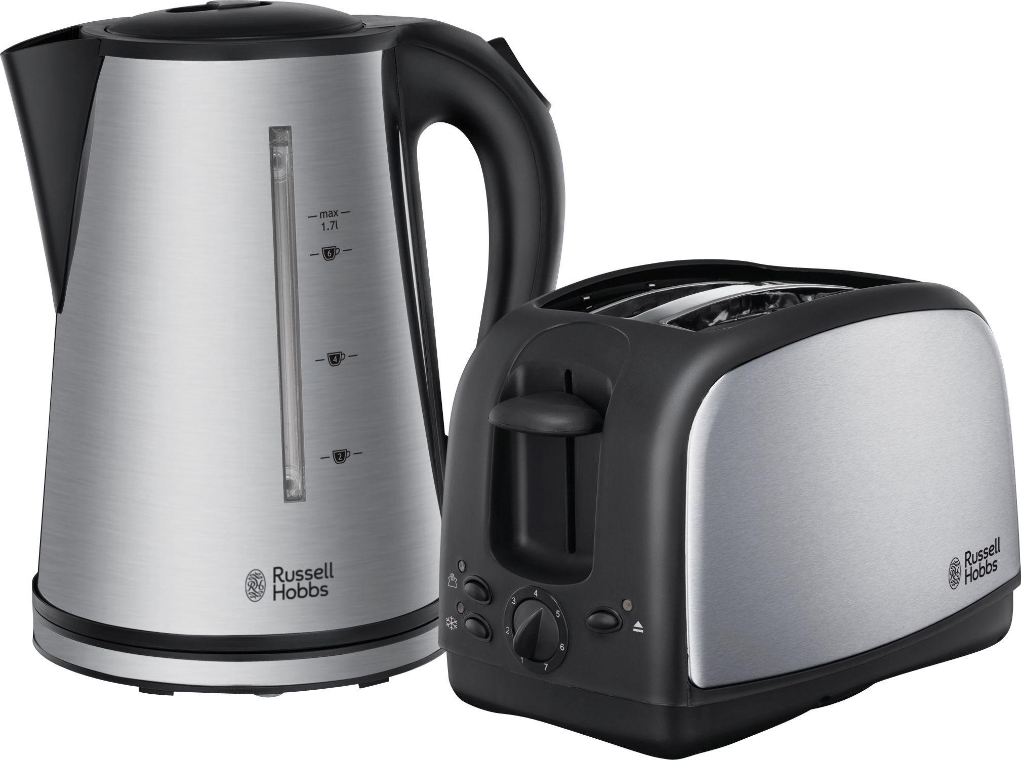 russell hobbs oxford kettle toaster twin pack. Black Bedroom Furniture Sets. Home Design Ideas