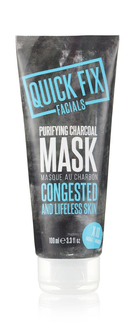 Quick Fix Facials Purifying Charcoal Mask - 100ml