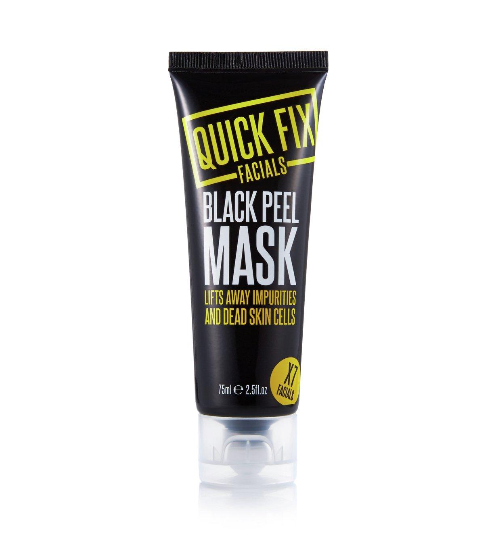 Quick Fix Facials Black Peel Mask - 75ml