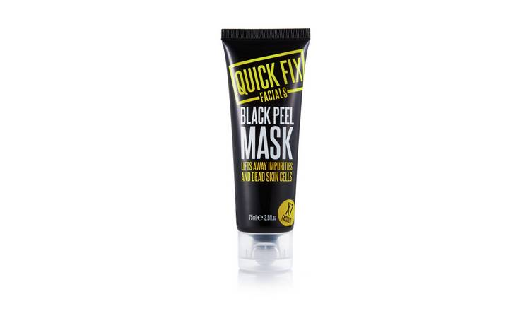 Quick Fix Facials Black Peel Mask - 75ml