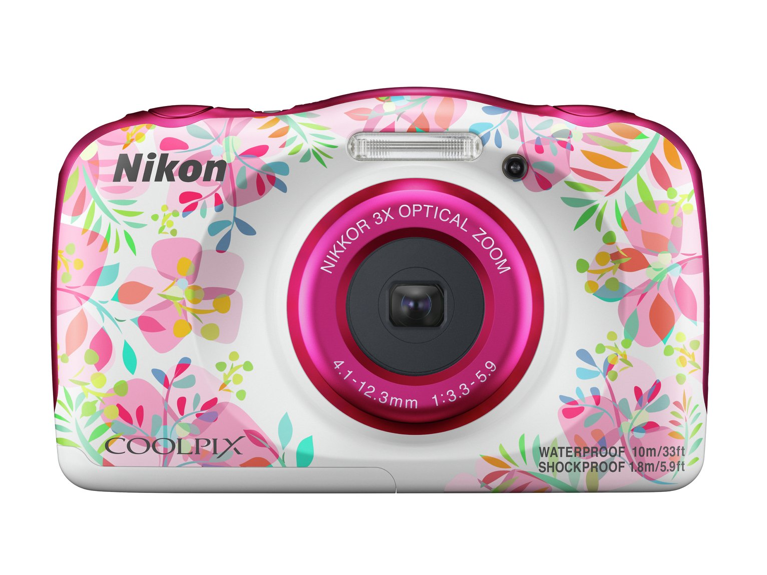 Nikon Coolipix W150 13.2MP 3 x Zoom Camera - Pink