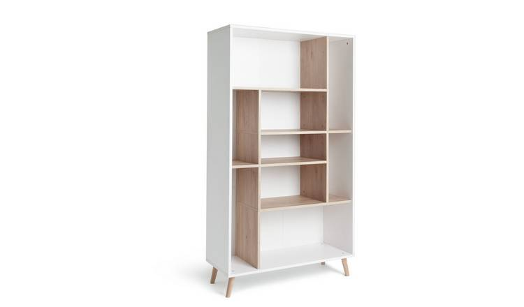 Habitat Skandi Storage Unit - White Two Tone