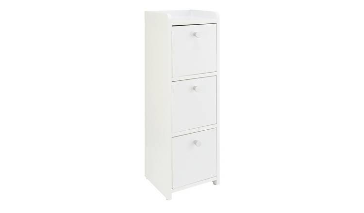 Argos Home Prime Slim 3 Drawer Unit