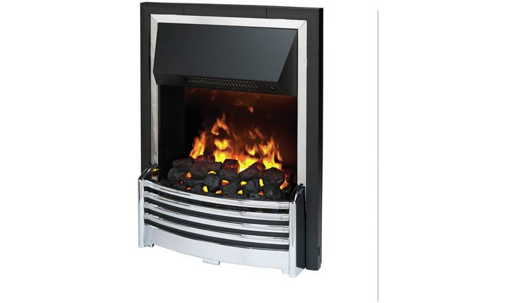 Dimplex Flagstaff Optimyst 2kW Inset Electric Fire - Chrome