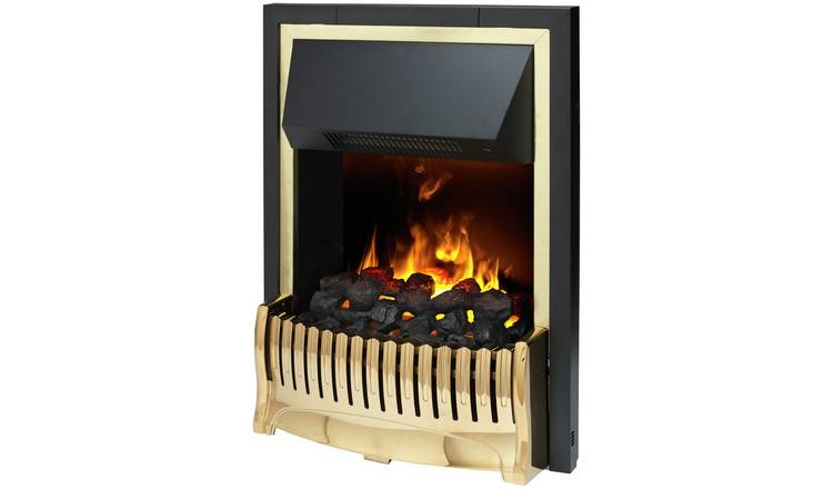 Dimplex Bellemont Optimyst 2kW Inset Electric Fire - Brass
