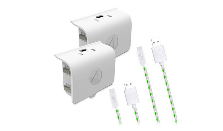 Stealth Xbox One Rechargeable Battery Twin Pack - White