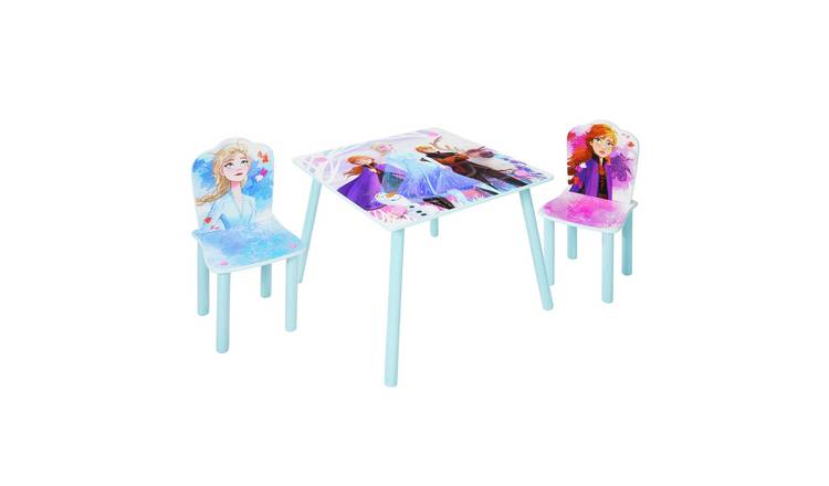 Disney Frozen 2 Kids Table & 2 Chairs