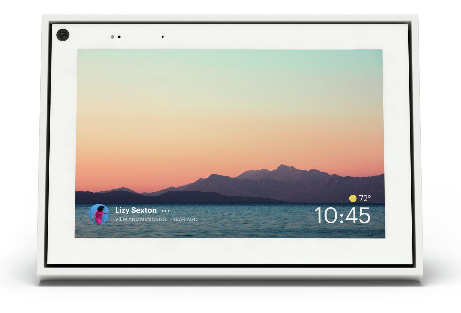 Portal Mini with 8 Inch Display- White – Pre-order