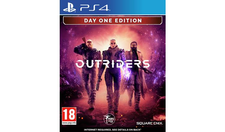 Outriders: Deluxe Edition PS4 Game Pre-Order