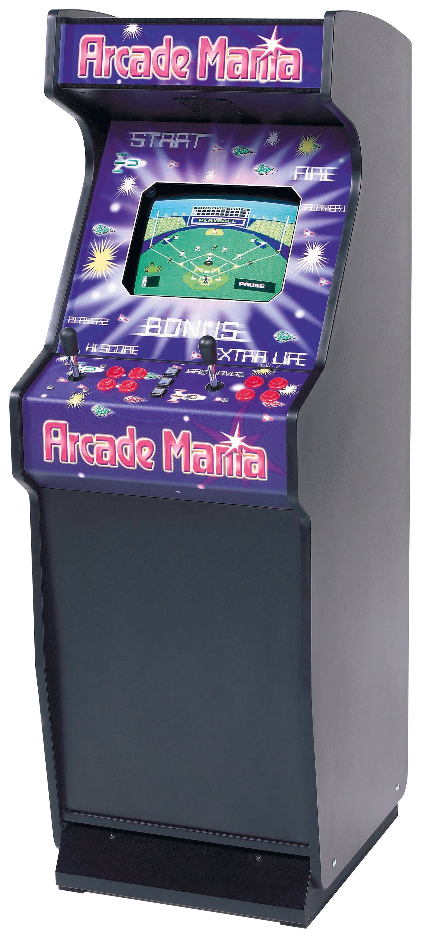 Image of Arcade Mania 75 in 1 Freestanding Game Machine.