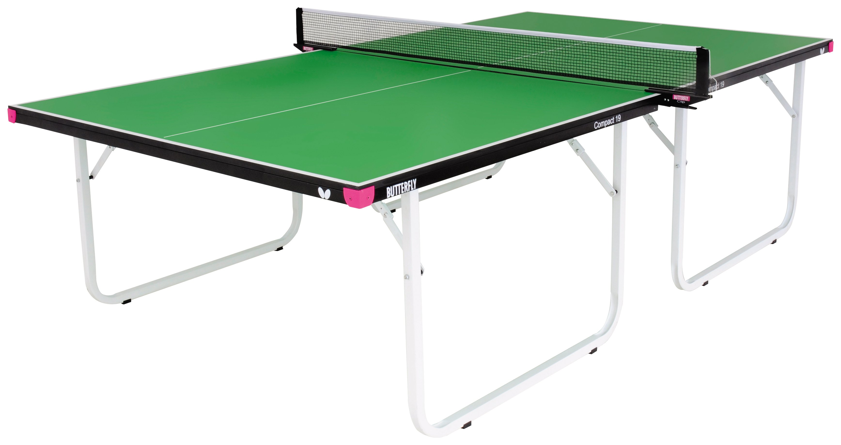 Image of Butterfly - Compact Indoor Table Tennis Table - Green