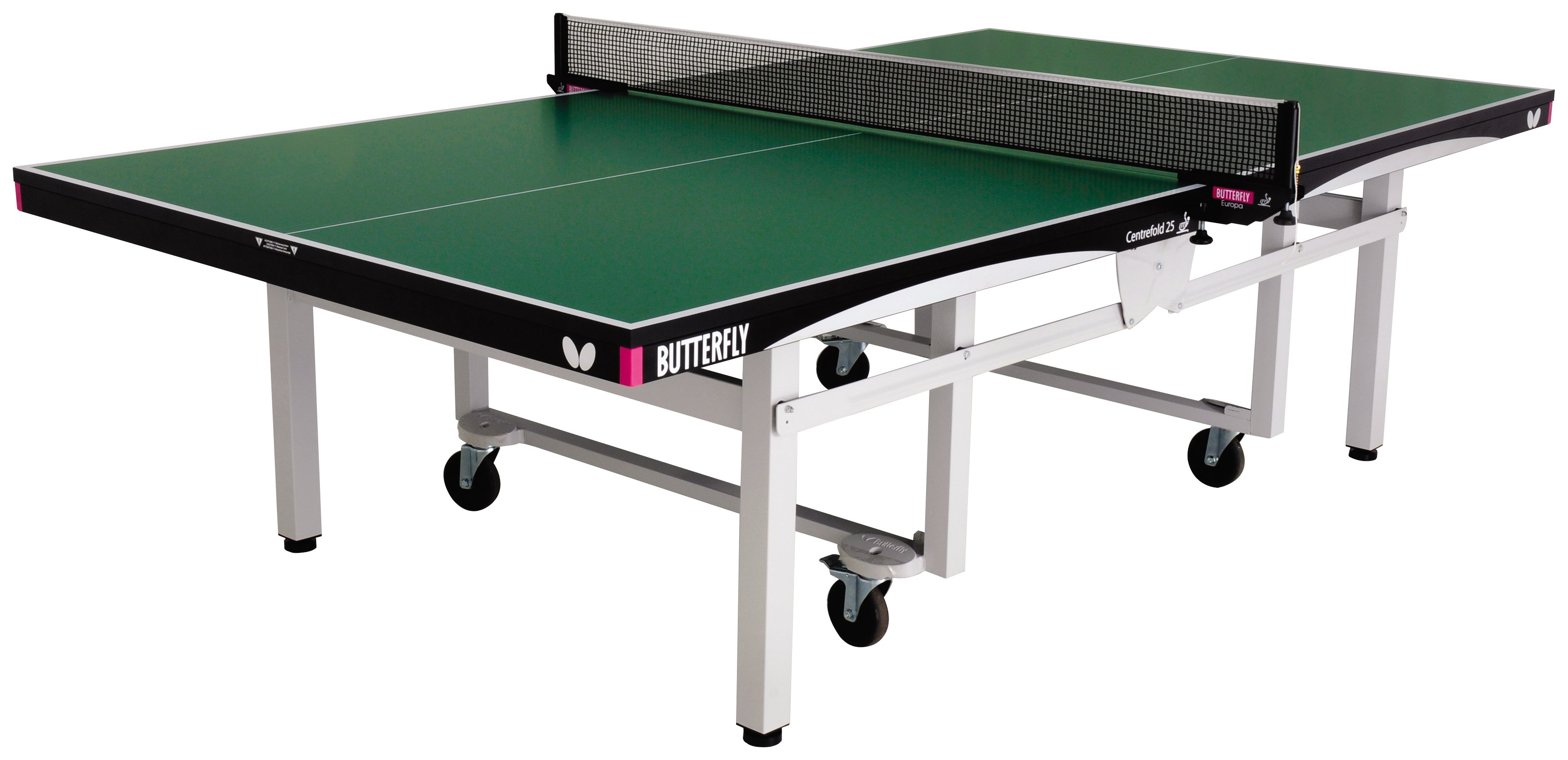 Image of Butterfly - Centrefold Indoor Table Tennis Table - Green