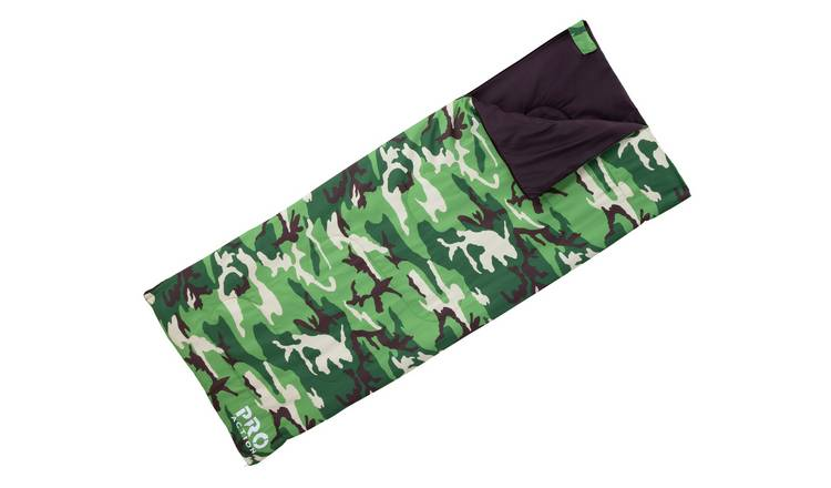 ProAction Camouflage 250GSM Junior Sleeping Bag