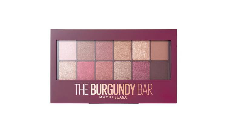 Maybelline Burgundy Eye Shadow Palette