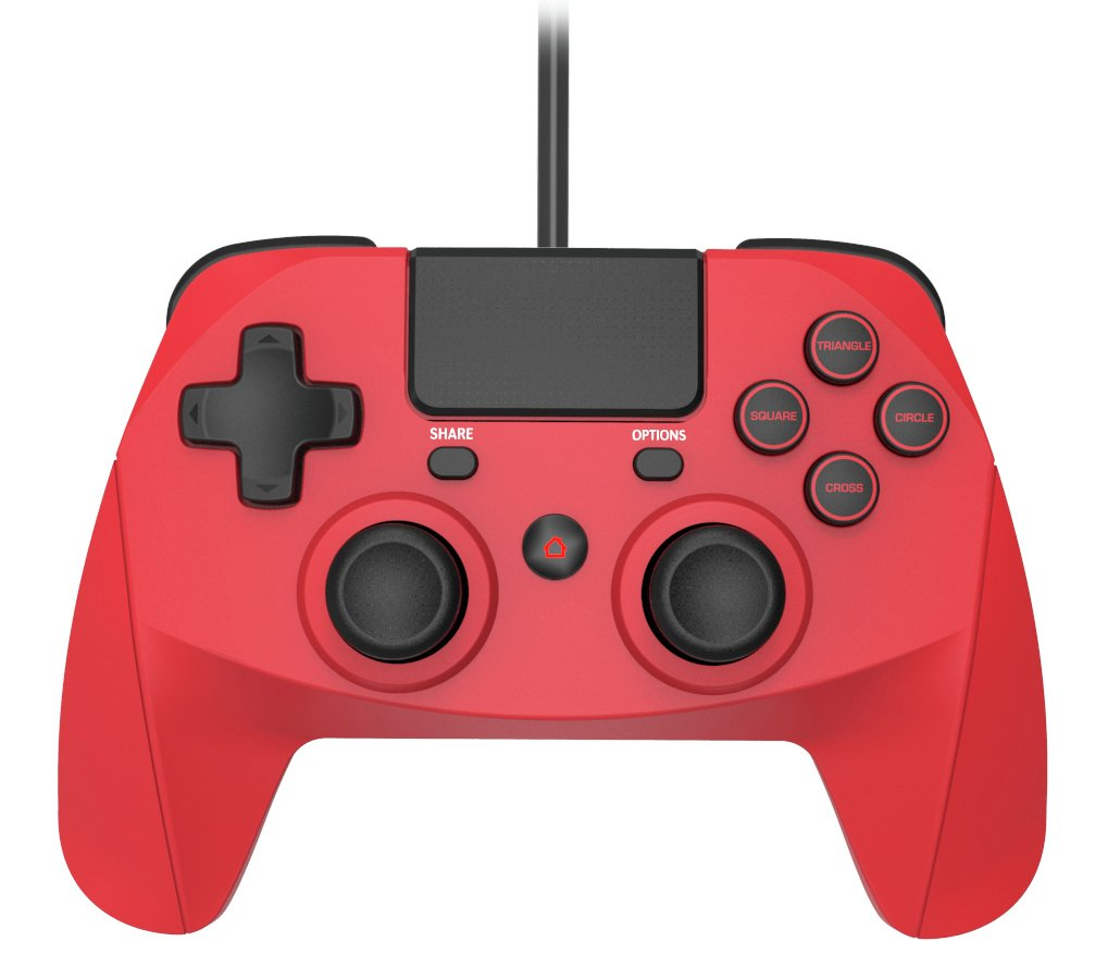 Snakebyte Game:Pad 4S Wired PS4 Controller - Red