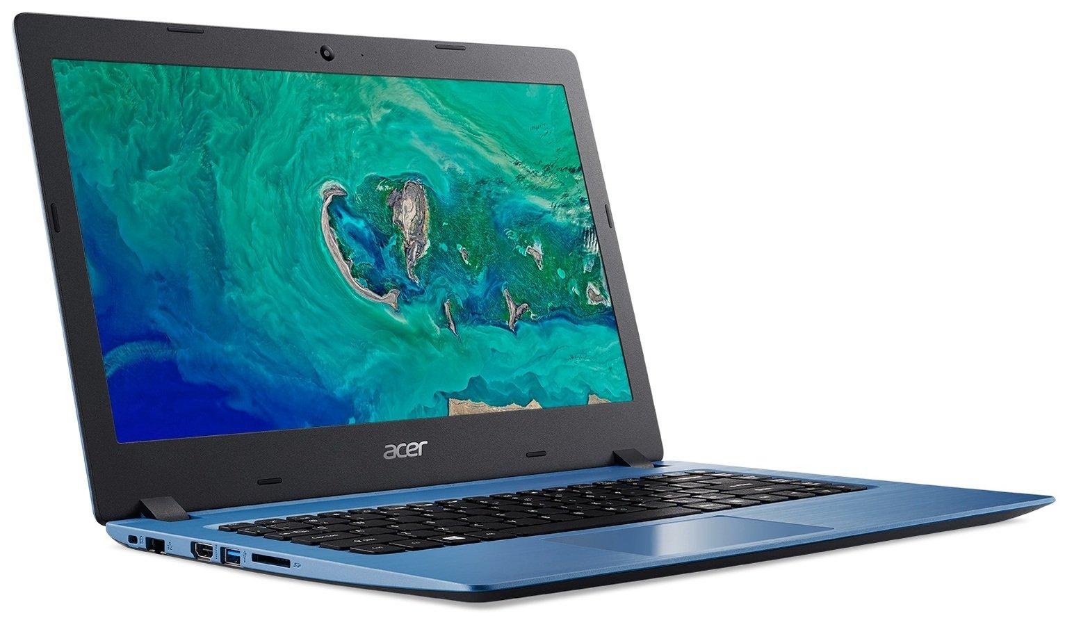 Acer Aspire 1 14 Inch Celeron 4GB 64GB Cloudbook - Blue