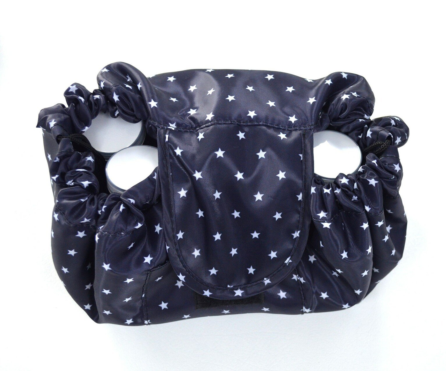 Maven Drawstring Star Make-Up Bag