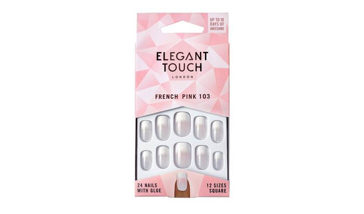 Elegant Touch Natural French All In One Manicure Kit