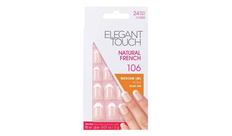 Elegant Touch Natural French Nails 106 Manicure Kit