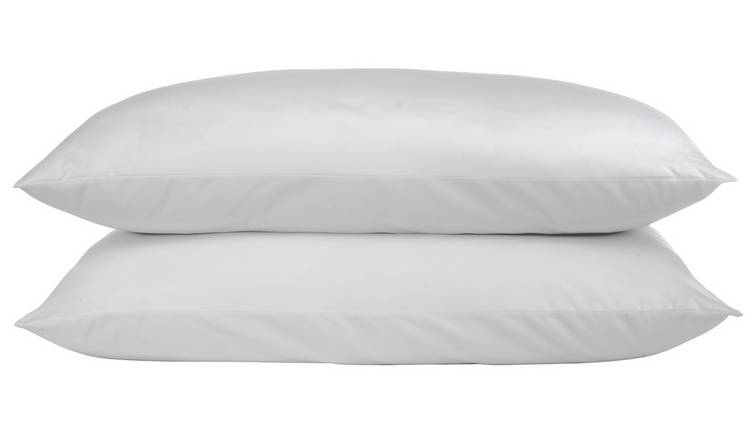 Argos Home Duck Feather Soft Pillow - 2 Pack
