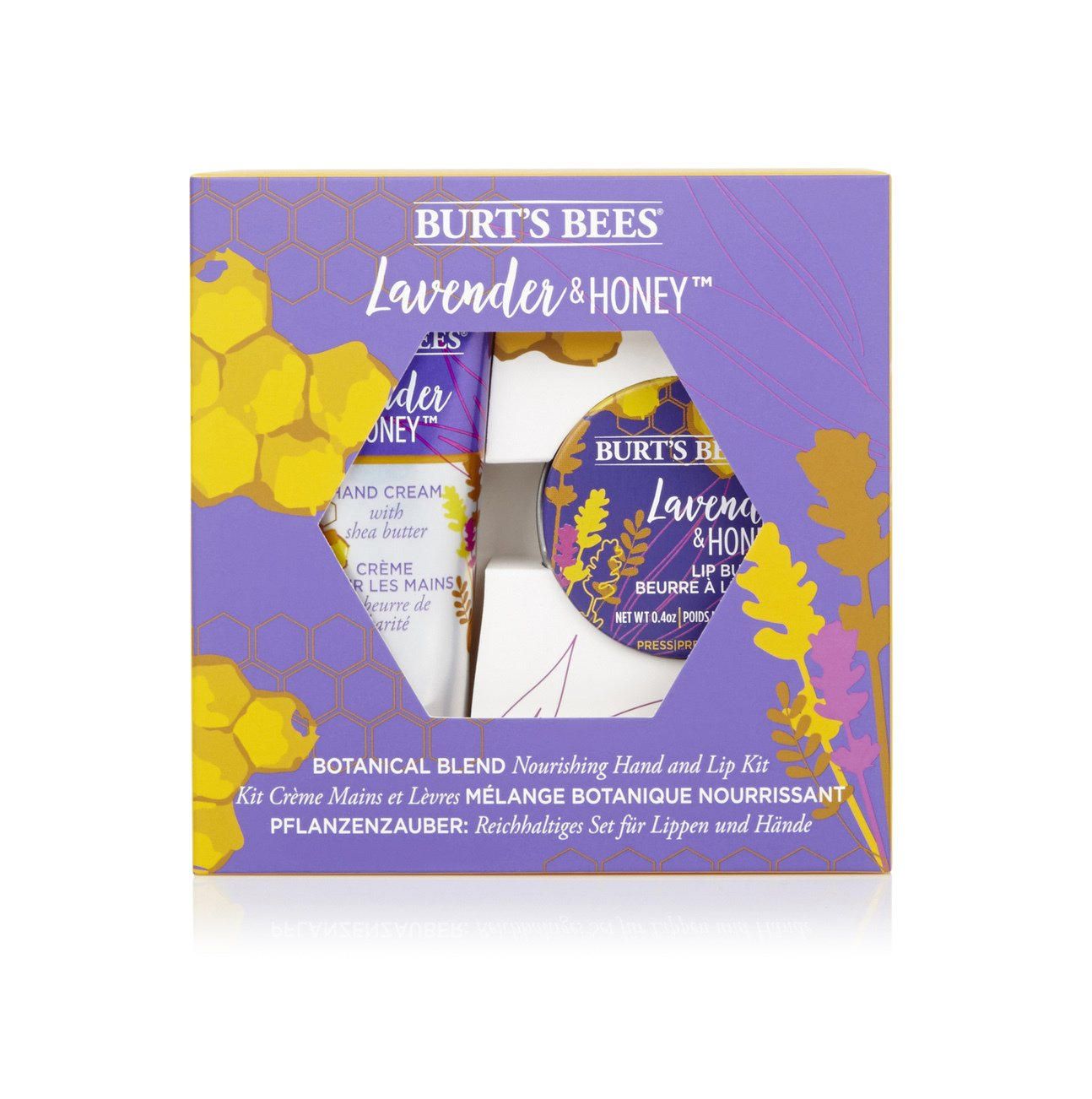 Burt's Bees Lavender Honey Hand & Lip Gift Set