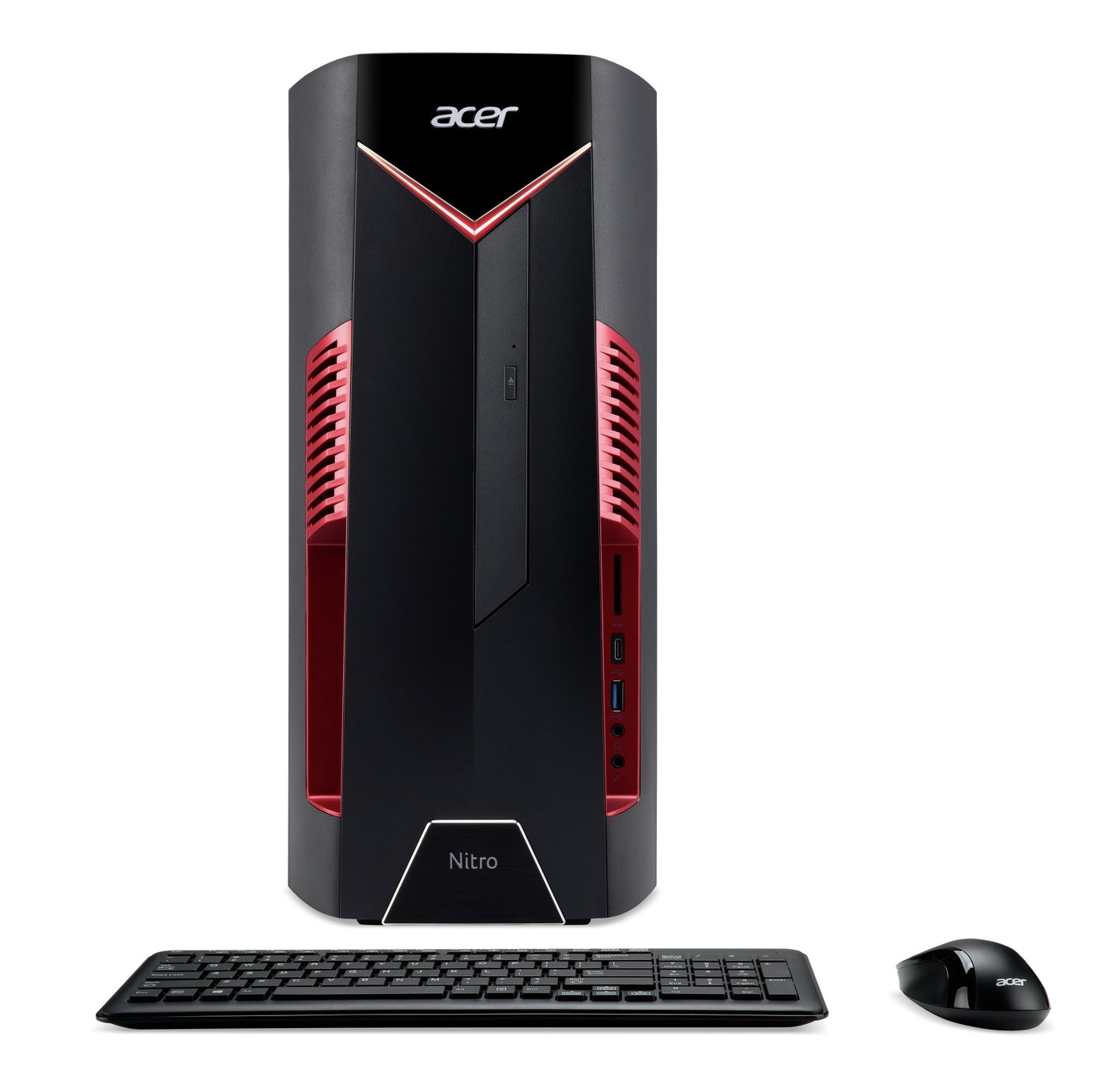 Acer Nitro N50-100 Ryzen 5 8GB 1TB 256GB GTX1650 Gaming PC