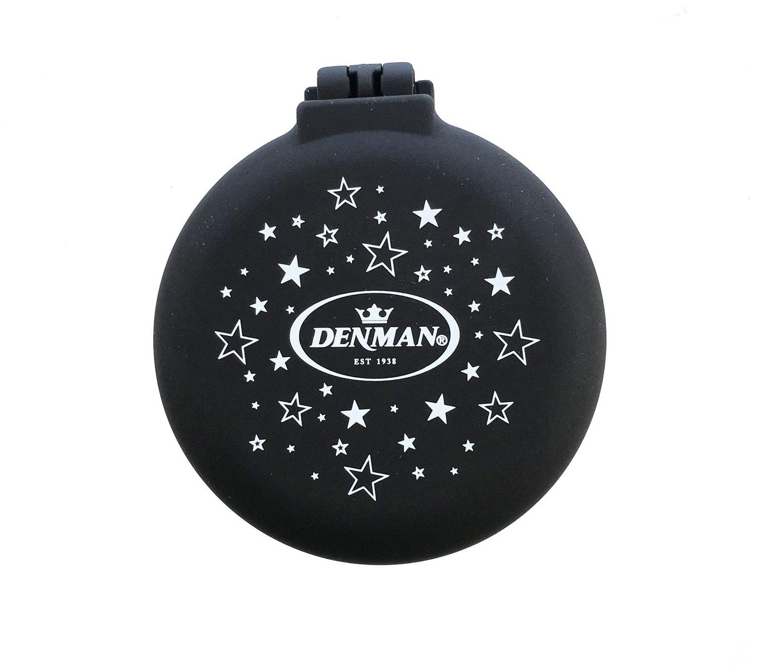 Denman Popper Brush - Black Stars