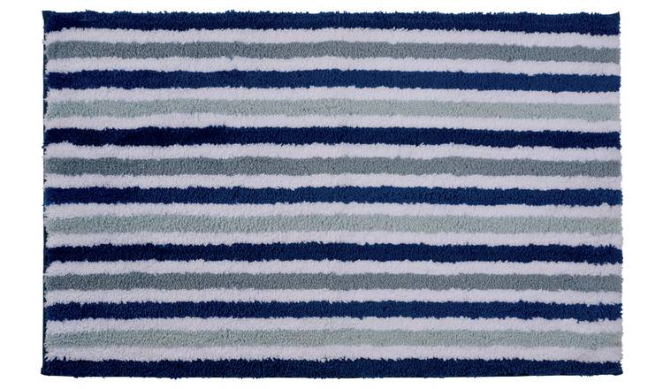 Argos Home Chunky Stripe Bath Mat