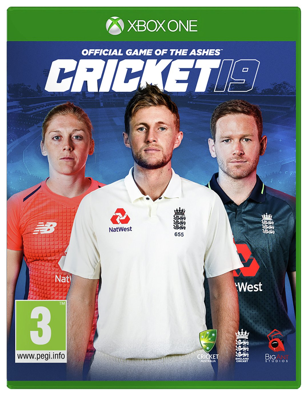Cricket 19: The Official Game of the Ashes Xbox One Game
