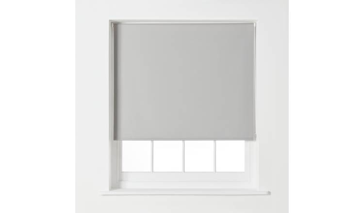 Argos Home Blackout Roller Blind - 3ft - Dove Grey