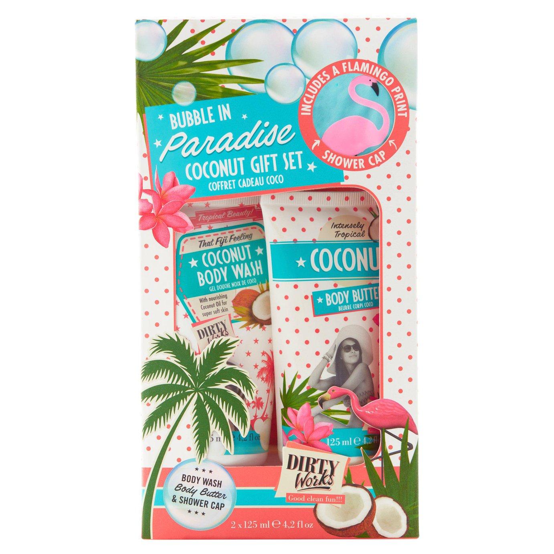Dirty Works Coconut Bath Gift Set