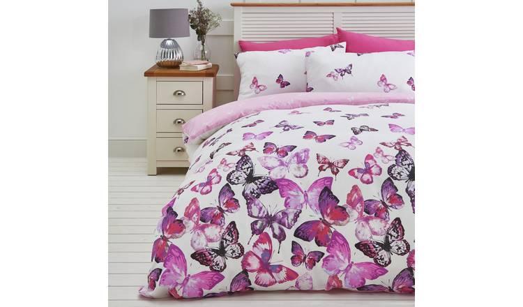 Argos Home Pink Trailing Butterflies