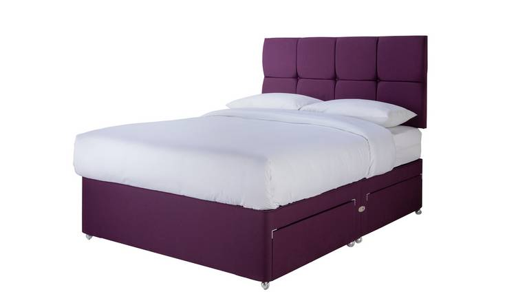 Sleepeezee Orthopaedic 1000 Pillowtop 4 Drawer Divan Set
