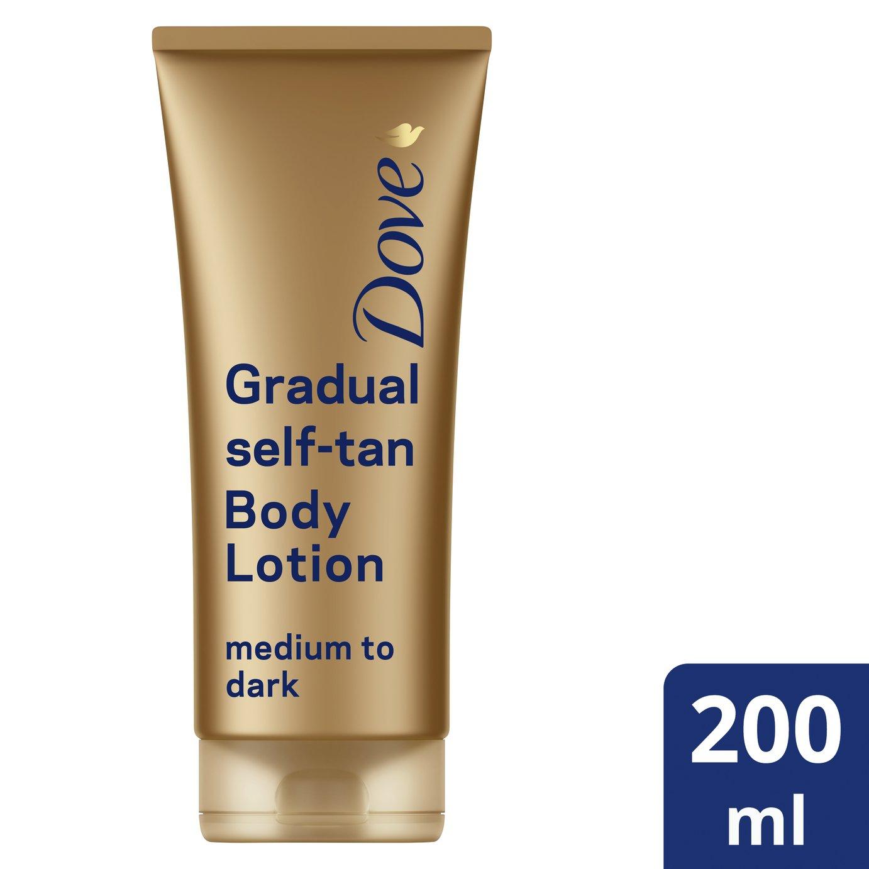Dove Summer Revive Dark Lotion - 200ml