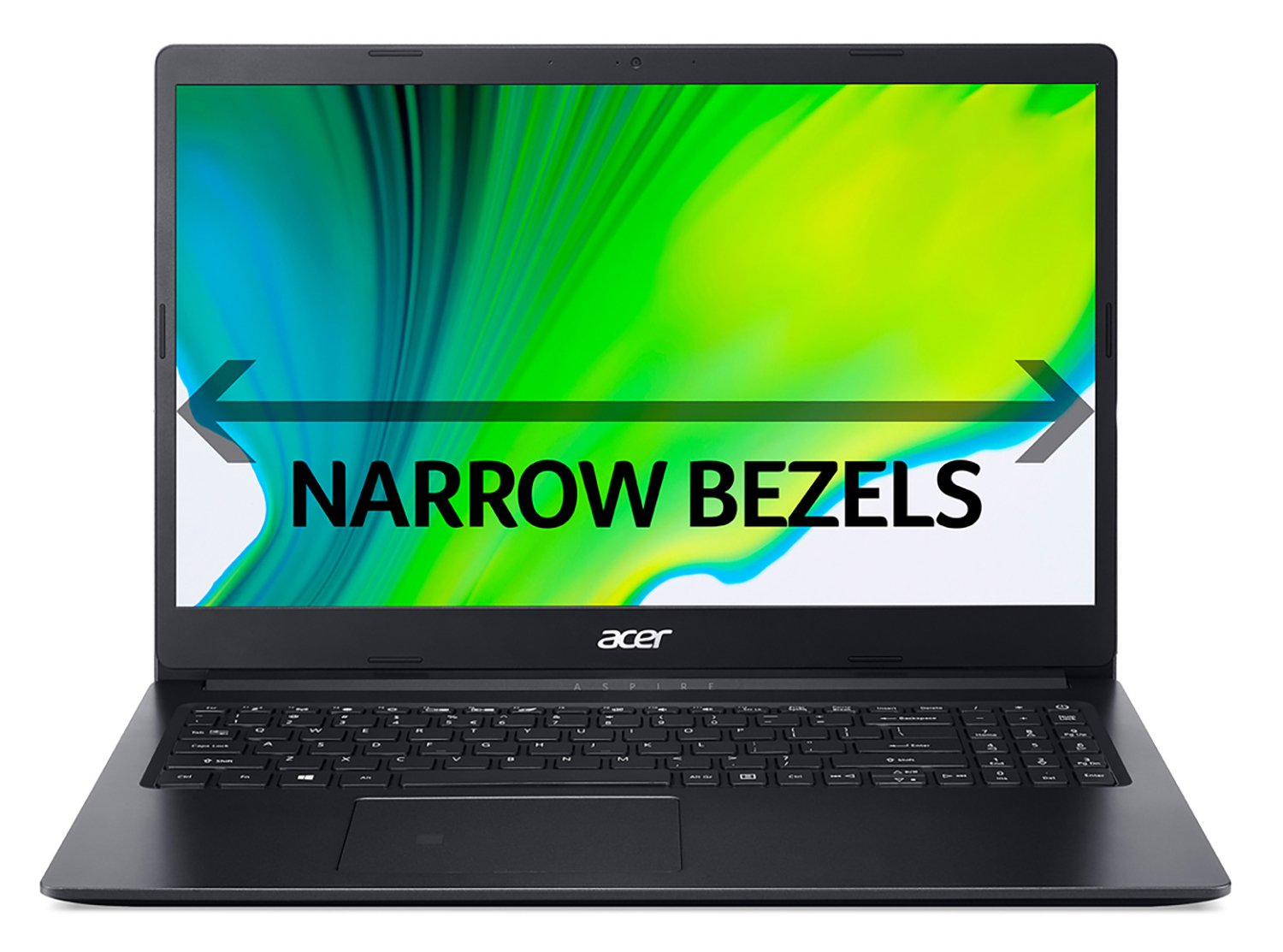 Acer Aspire 3 15.6 Inch A9 8GB 1TB HD Laptop - Black