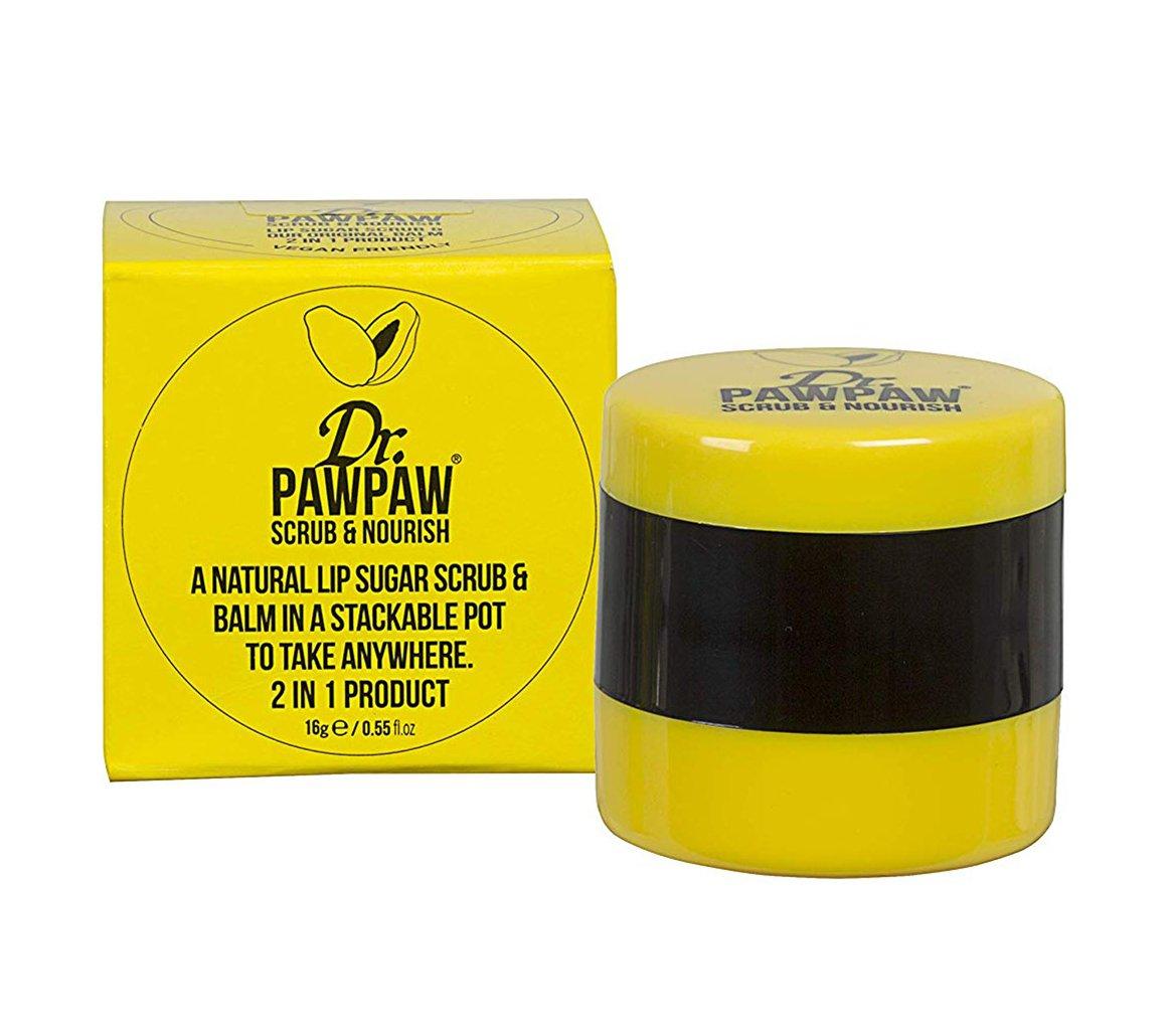 Dr.PAWPAW Natural Lip Sugar Scrub and Lip Balm