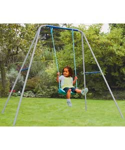 Swings, slides and climbing frames