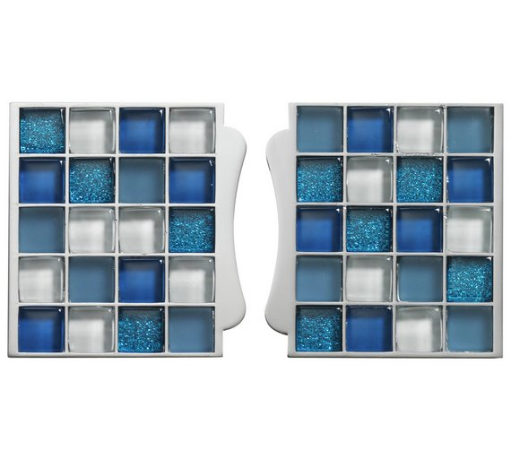 buy aqualisa mosaic tile inlay blue at