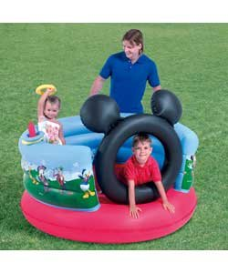 Bouncy castles and inflatable toys